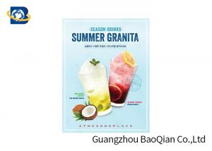China Food / Drinking Advertising Posters 3D Lenticulares High Definition Eco - Friendly Material on sale