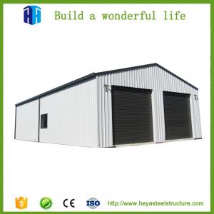 China Prefab car showroom steel structure rent warehouse garage workshop sale on sale