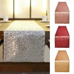 Solid Color Dining Table Runner Printed Waterproof  Home Decoration Cloth