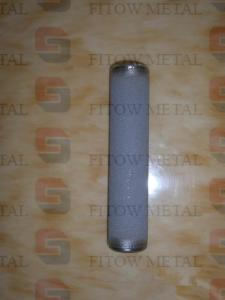 China Sintered metal microns porous membrane tube on sale