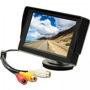 China 4.3 TFT LCD Car Display Monitor 2 Video Input For Rear View Camera DVD on sale