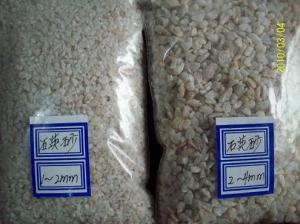 China High white quartz stone and sands and powder for counter tops/Foundry used silica sand/glass grade silica quartz sand on sale