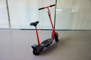 China Childs Seated 300W Powerful Electric Scooter , Twist-grip Acceleration Control Razor Model on sale