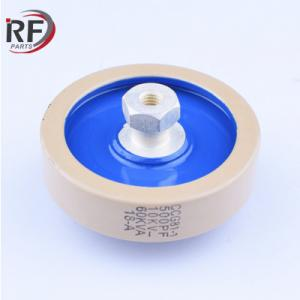 China RF Power Plate Capacitor 10KV 500PF 60KVA HF welding machine capacitor on sale