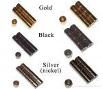 fecho magnético com cor diferente
