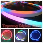 14*26mm size led digital neon flex light with low voltage 24v lights