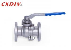 China ANSI Industrial Flanged Ball Valve Split Body Stainless Steel Floating Class 150 on sale