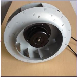 China Aluminum Die Cast Ec Centrifugal Exhaust Fan Blower Backward Curved 280*50 mm on sale