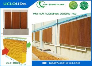 China Non Toxic Evaporative Cooling Media For Mist Cooling System Resistant To Mold on sale