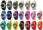 China Diamond Quartz Xa ? ? mas Japan Quartz Movement Geneva Silicone Wrist Watch 1.5 inches Case on sale