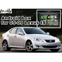 China Lexus IS350 IS250 ISF 2005-2009 Multimedia Gps Navigation mirror link video interface rear view on sale