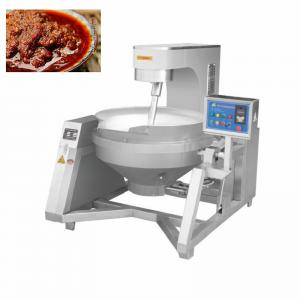 China 30kw 600L Paste Making Boiling Jacketed Kettle Cooker on sale