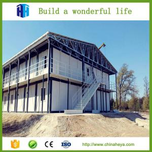 China 2017  High quality Prefabricated house steel fram prefab building price on sale