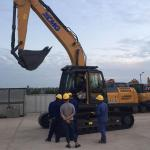 0.8-1m3 Heavy Earth Digging Equipment ,  XE215C Construction Sales Excavators