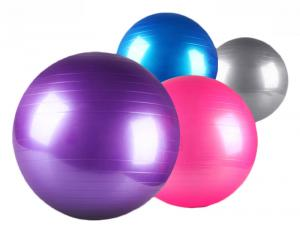 China Yoga Pilates Aerobic Gymnastic Indoor Fitness Equipment Colorful Swiss Ball on sale