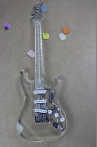 China 2019 New Arrivals Crystal electric guitar, Fender ST Electric Guitar on sale