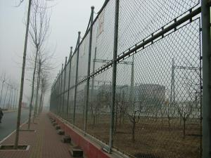 China 2x2 Galvanized Welded Chain Link Fence Panels For Gardon / Playground on sale