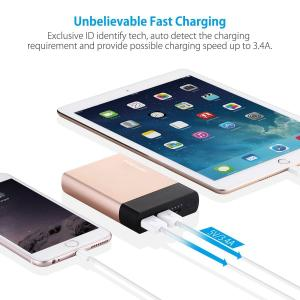 China Tablet / Smartphone Dual Charge Power Bank 10000mAh External Battery Pack on sale