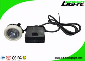 China 4000lux Brightness Mining Hard Hat Led Lights High Intensity With Cable Length Customized on sale