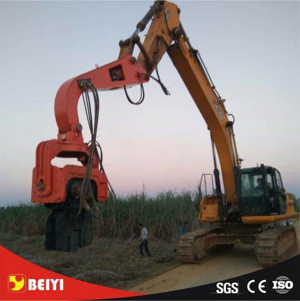 Beiyi V330 hydraulic static pile driver equipment vibratory