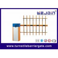 China Remote Control Automatic Car Park Barriers , Vehicle Barrier Gates Steel Housing on sale