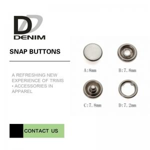 China 16L Bulk Pearl Prong Snap Button ? Decorative Snaps ? Pearl Snaps on sale