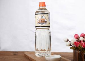China Brewed Japanese Rice Vinegar White Rice Vinegar Yellow Color For Sushi Seafoods on sale