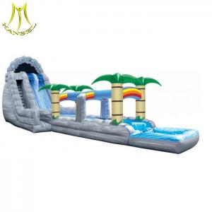 China Hansel Outdoor and Indoor Inflatable tree slide  adult water inflatable slide on sale