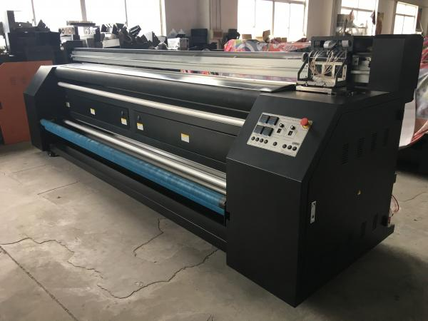 Digital Printing Fabric Plotter Signs Two Epson DX5 Heads For