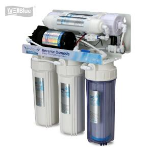 China 5 Stage Reverse Osmosis Water Purification System With Membrane Filter on sale