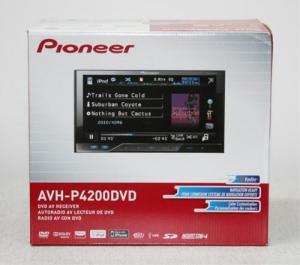 China hoting sell Pioneer AVH-P4200DVD In-Dash Double-DINCar DVD Player Multimedia AV Receiver on sale