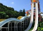 Hotel And Resort Fiberglass High Speed Water Slide