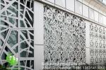 Aluminum perforated decorative panel for curtain wall facade cladding wall panel with 2mm thickness perforated screen
