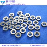 Tungsten carbide valve seat tools for mud pump&valve ball and valve seat cemented carbide ball valve seat ring