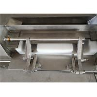 China Frozen Meat Grinder Machine , Double Belt Industrial Meat And Bone Grinder on sale