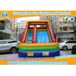 Giant Outdoor Commercial Inflatable Slide For Kids Durable And Flame Resistant