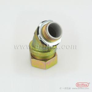 China Malleable iron 45d Angle Connector on sale