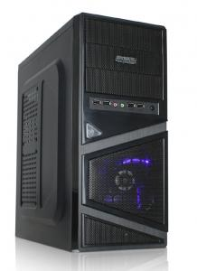 China Micro-ATX Mid Tower Computer Cases 0.5mm SGCC Thickness With Power Supply on sale