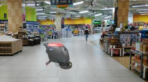 China Máquina do secador do purificador do assoalho do supermercado com o tanque de água guardado e grande on sale