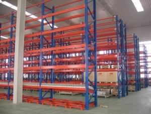 China Customized Depth Adjustable Pallet Racking ,  Selective Steel Pallet Rack Easily Installed on sale