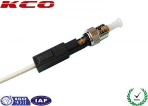 China ST Singlemode Fiber Optic AFL Fast Connector Straight Through Field Assembly on sale