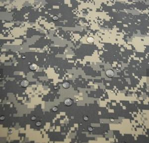 China High quality fashion Waterproof  pvc coated winter snow camouflage fabric on sale