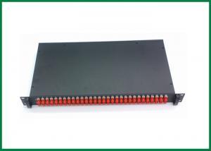 China 19 divisor montado en rack del divisor 30dBm 1550nm 1x2 FTTH del acoplador de la fibra óptica on sale