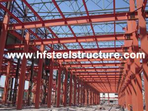 China PPGI Steel Panels Wall Prefabricated Commercial Steel Factory With Fire Resistenc Treatment on sale