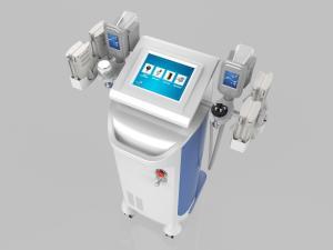 China Ultrasonic Fat Cavitation Machine / Multifunction Beauty Equipment Pain Free on sale