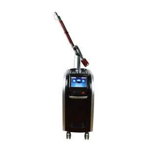 China 532 755 1064nm Q Switched Nd Yag Laser Machine , Picosecond Tattoo Removal Equipment on sale