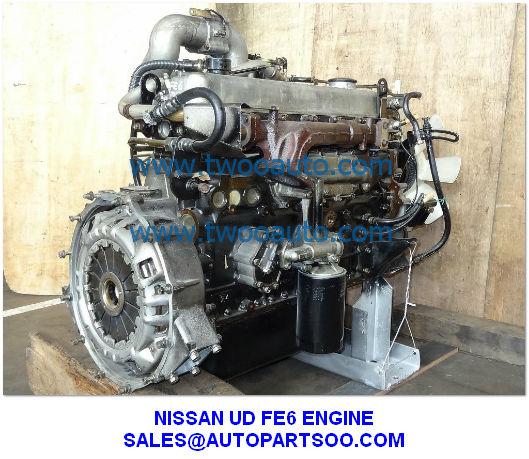 Western Auto Sales >> NISSAN UD ENGINE FE6 ENGINE, USED NISSAN FE6 ENGINE for sale – USED JAPAN ENGINE ASSY ...