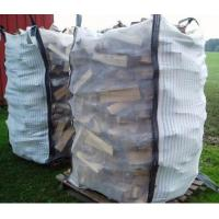 Custom Ventilated Bulk Bags , PP Woven Bag for Packing Firewood