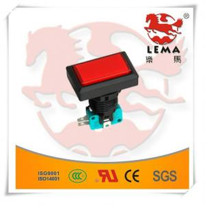 China Rectangular illuminated push button switch PBS-007 on sale