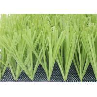 Comfortable Football Field Artificial Grass With PP + NET Backing Light Green